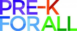 Pre K For All Logo